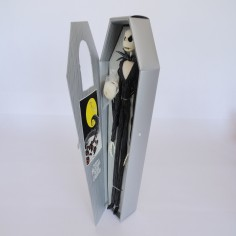 Jack Skellington Figure in Grey Coffin
