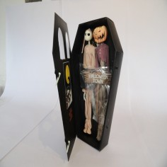 Jack Skellington Figure in Pijamas & pumpkin King
